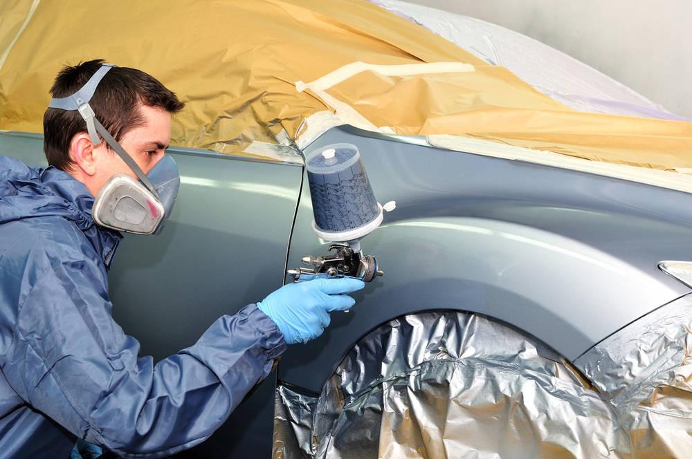 Tecnología en la pintura del automóvil