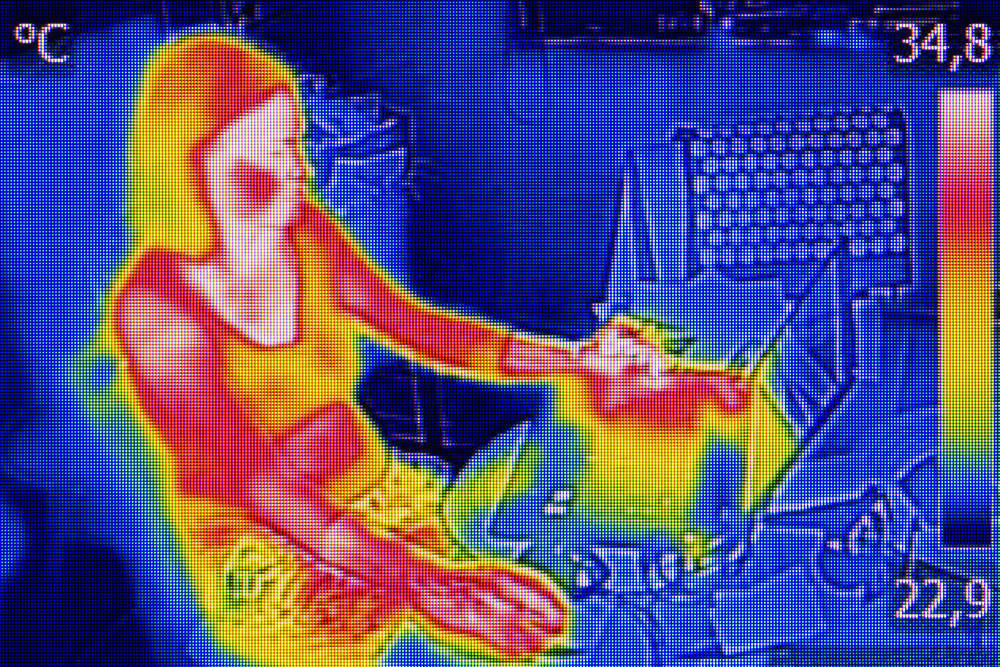 Cámaras termográficas para descubrir enfermedades